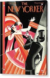 New Yorker February 6th, 1926 Acrylic Print by Victor Bobritsky