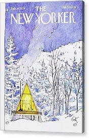 New Yorker February 6th 1978 Acrylic Print