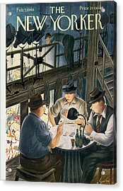 New Yorker February 7th, 1948 Acrylic Print