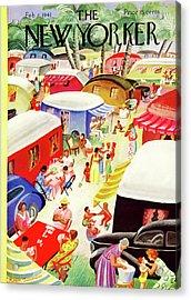 New Yorker February 8th, 1941 Acrylic Print