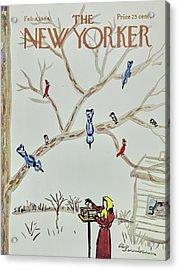 New Yorker February 8th 1964 Acrylic Print