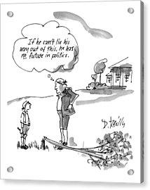 New Yorker February 9th, 1998 Acrylic Print