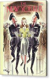 New Yorker January 10th, 1942 Acrylic Print