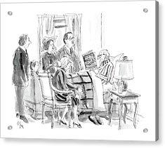 New Yorker January 11th, 1988 Acrylic Print