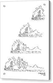 New Yorker January 12th, 1987 Acrylic Print