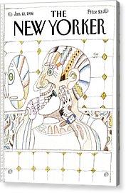 New Yorker January 12th, 1998 Acrylic Print