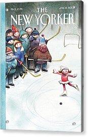 New Yorker January 13th, 2003 Acrylic Print