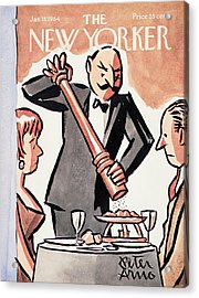 New Yorker January 18th, 1964 Acrylic Print