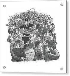 New Yorker January 1st, 1944 Acrylic Print