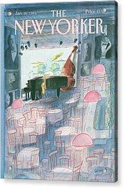 New Yorker January 20th, 1986 Acrylic Print