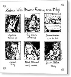 New Yorker January 20th, 1992 Acrylic Print