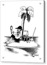 New Yorker January 21st, 1991 Acrylic Print by Richard Oldden