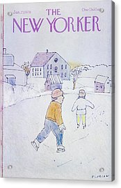 New Yorker January 23rd 1978 Acrylic Print