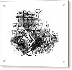 New Yorker January 25th, 1941 Acrylic Print