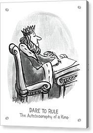 New Yorker January 27th, 1986 Acrylic Print