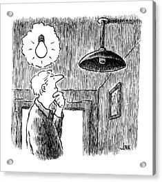 New Yorker January 27th, 1992 Acrylic Print by John Jonik