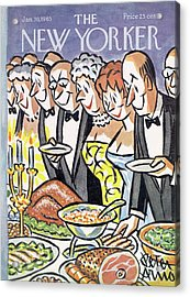 New Yorker January 30th, 1965 Acrylic Print