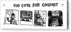 New Yorker January 7th, 1980 Acrylic Print