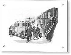 New Yorker January 8th, 1944 Acrylic Print