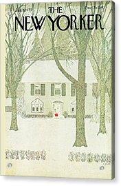 New Yorker January 8th, 1979 Acrylic Print