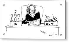 New Yorker January 8th, 1996 Acrylic Print