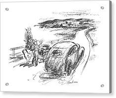New Yorker July 10th, 1943 Acrylic Print by Alan Dunn