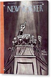 New Yorker July 10th, 1948 Acrylic Print