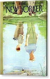 New Yorker July 12th, 1958 Acrylic Print