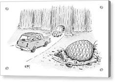 New Yorker July 12th, 1999 Acrylic Print