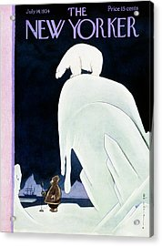 New Yorker July 14 1934 Acrylic Print