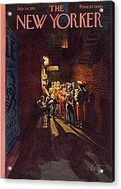 New Yorker July 14th, 1951 Acrylic Print