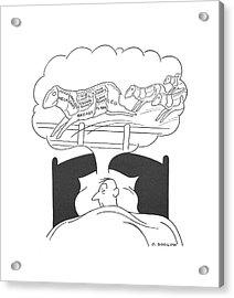 New Yorker July 17th, 1943 Acrylic Print