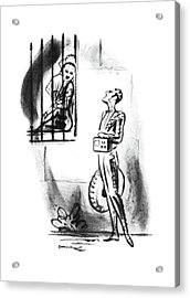 New Yorker July 19th, 1941 Acrylic Print