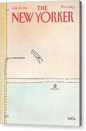 New Yorker July 20th, 1981 Acrylic Print