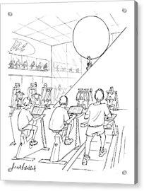 New Yorker July 20th, 1998 Acrylic Print