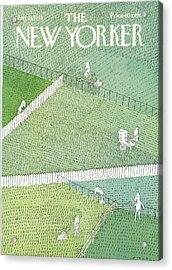 New Yorker July 21st, 1975 Acrylic Print
