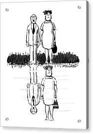 New Yorker July 22nd, 1991 Acrylic Print