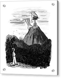 New Yorker July 24th, 1995 Acrylic Print by Warren Miller