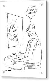 New Yorker July 25th, 1988 Acrylic Print