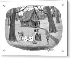 New Yorker July 26th, 1999 Acrylic Print