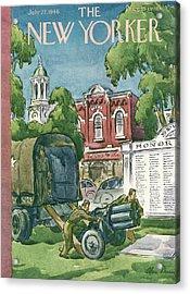 New Yorker July 27th, 1946 Acrylic Print