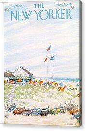 New Yorker July 27th, 1957 Acrylic Print