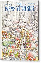 New Yorker July 27th, 1981 Acrylic Print