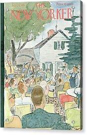 New Yorker July 28th, 1951 Acrylic Print