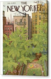 New Yorker July 31st, 1954 Acrylic Print