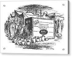 New Yorker July 3rd, 1943 Acrylic Print by Alan Dunn