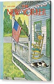 New Yorker July 6th, 1968 Acrylic Print