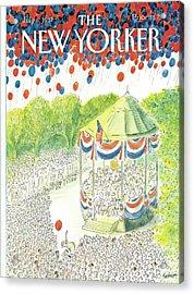 New Yorker July 6th, 1987 Acrylic Print