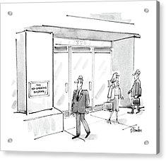 New Yorker July 7th, 1986 Acrylic Print by Dana Fradon