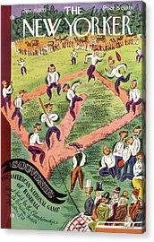 New Yorker June 10th, 1933 Acrylic Print